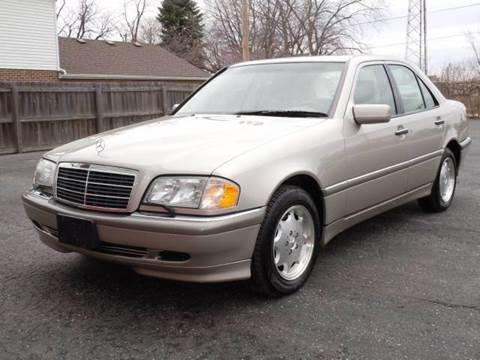 1998 Mercedes-Benz C-Class for sale at Tonys Pre Owned Auto Sales in Kokomo IN