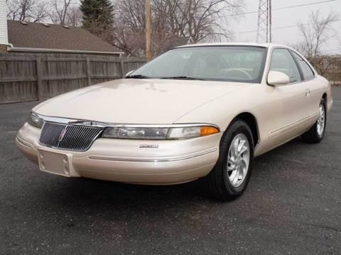 1996 Lincoln Mark VIII for sale at Tonys Pre Owned Auto Sales in Kokomo IN