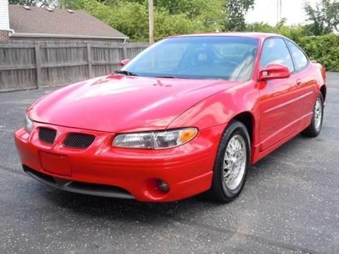 2000 Pontiac Grand Prix for sale at Tonys Pre Owned Auto Sales in Kokomo IN