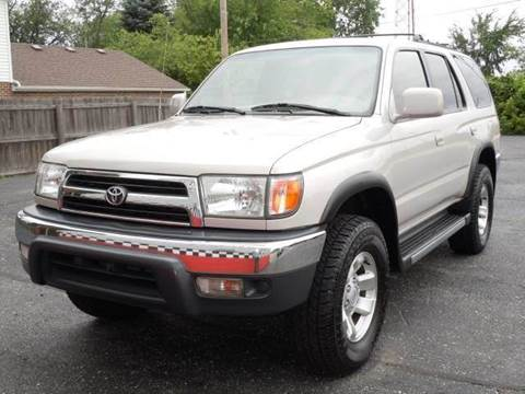 1999 Toyota 4Runner for sale at Tonys Pre Owned Auto Sales in Kokomo IN