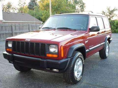 1998 Jeep Cherokee for sale at Tonys Pre Owned Auto Sales in Kokomo IN