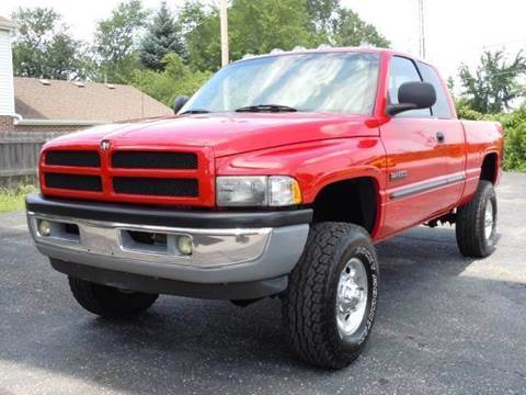 2001 Dodge Ram Pickup 2500 for sale at Tonys Pre Owned Auto Sales in Kokomo IN