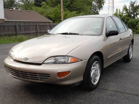 1997 Chevrolet Cavalier for sale at Tonys Pre Owned Auto Sales in Kokomo IN