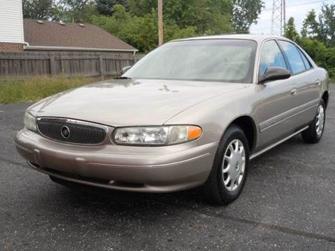 1999 Buick Century for sale at Tonys Pre Owned Auto Sales in Kokomo IN