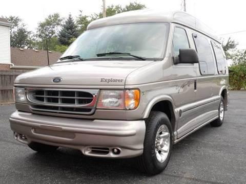 2002 Ford E-Series Cargo for sale at Tonys Pre Owned Auto Sales in Kokomo IN