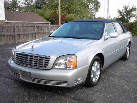 2001 Cadillac DeVille for sale at Tonys Pre Owned Auto Sales in Kokomo IN
