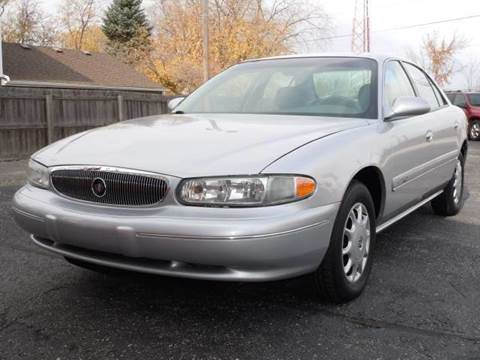 2001 Buick Century for sale at Tonys Pre Owned Auto Sales in Kokomo IN