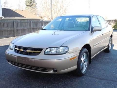 2002 Chevrolet Malibu for sale at Tonys Pre Owned Auto Sales in Kokomo IN