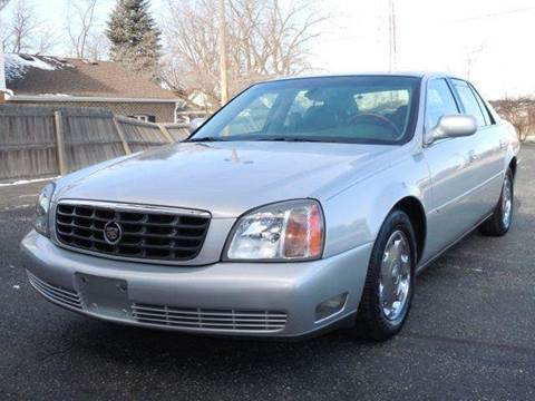 2002 Cadillac DeVille for sale at Tonys Pre Owned Auto Sales in Kokomo IN