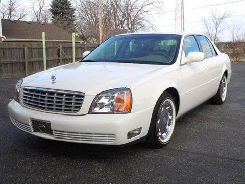2000 Cadillac DeVille for sale at Tonys Pre Owned Auto Sales in Kokomo IN
