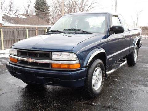 2000 Chevrolet S-10 for sale at Tonys Pre Owned Auto Sales in Kokomo IN