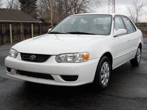 2002 Toyota Corolla for sale at Tonys Pre Owned Auto Sales in Kokomo IN