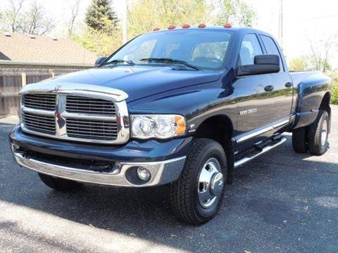 2004 Dodge Ram Pickup 3500 for sale at Tonys Pre Owned Auto Sales in Kokomo IN
