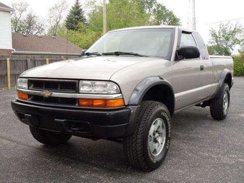2001 Chevrolet S-10 for sale at Tonys Pre Owned Auto Sales in Kokomo IN