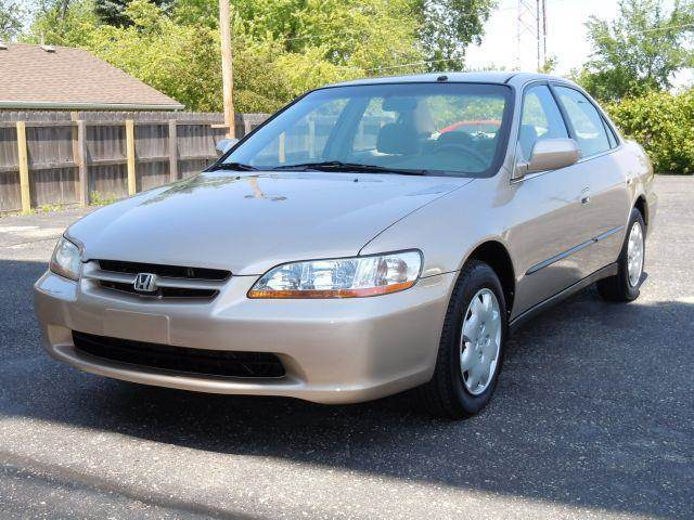 2000 Honda Accord For Sale At Tonys Pre Owned Auto Sales In Kokomo IN