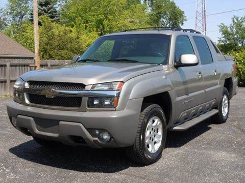 2002 Chevrolet Avalanche for sale at Tonys Pre Owned Auto Sales in Kokomo IN