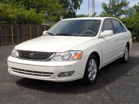 2001 Toyota Avalon for sale at Tonys Pre Owned Auto Sales in Kokomo IN