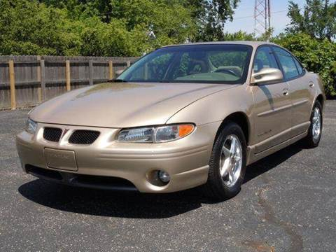 2001 Pontiac Grand Prix for sale at Tonys Pre Owned Auto Sales in Kokomo IN