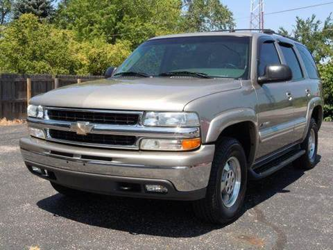 2003 Chevrolet Tahoe for sale at Tonys Pre Owned Auto Sales in Kokomo IN