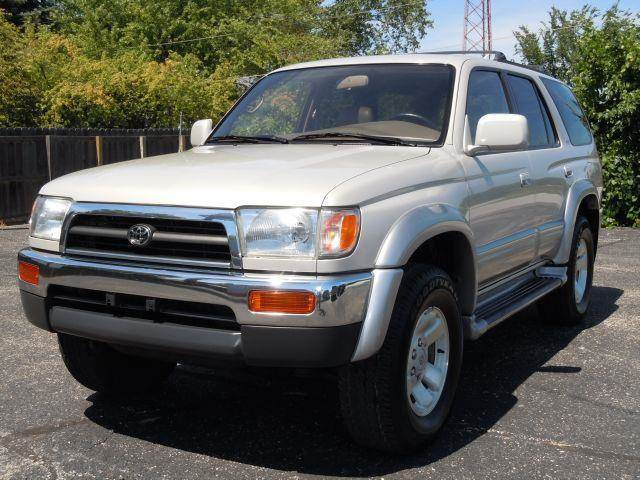 1997 Toyota 4Runner For Sale At Tonys Pre Owned Auto Sales In Kokomo IN