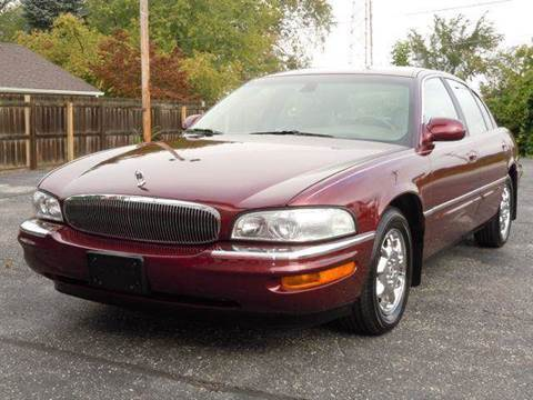2002 Buick Park Avenue for sale at Tonys Pre Owned Auto Sales in Kokomo IN
