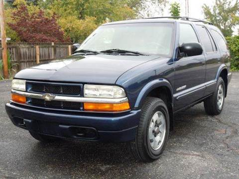 2003 Chevrolet Blazer for sale at Tonys Pre Owned Auto Sales in Kokomo IN