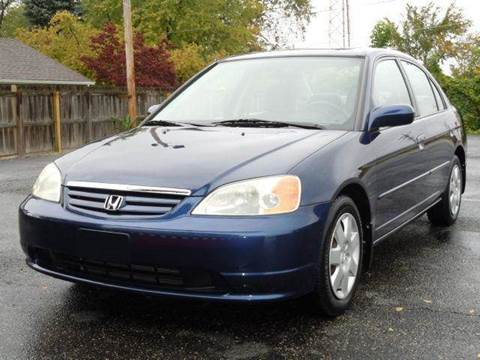 2001 Honda Civic for sale at Tonys Pre Owned Auto Sales in Kokomo IN