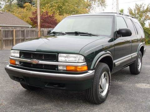 2001 Chevrolet Blazer for sale at Tonys Pre Owned Auto Sales in Kokomo IN