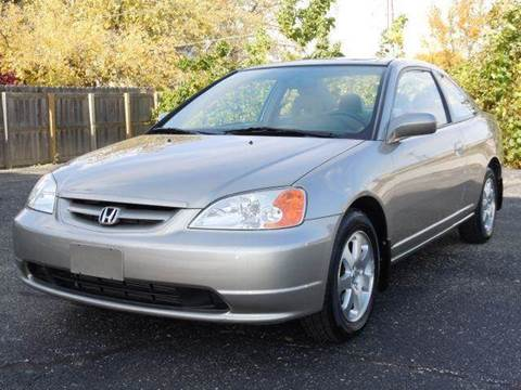 2003 Honda Civic for sale at Tonys Pre Owned Auto Sales in Kokomo IN