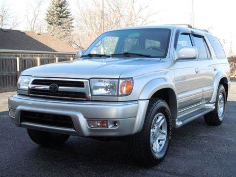 2000 Toyota 4Runner for sale at Tonys Pre Owned Auto Sales in Kokomo IN