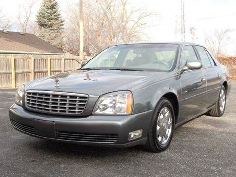 2005 Cadillac DeVille for sale at Tonys Pre Owned Auto Sales in Kokomo IN