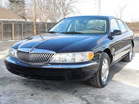 2000 Lincoln Continental for sale at Tonys Pre Owned Auto Sales in Kokomo IN