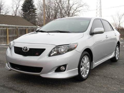 2009 Toyota Corolla for sale at Tonys Pre Owned Auto Sales in Kokomo IN