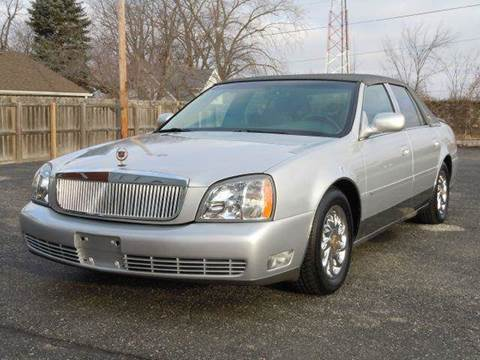 2003 Cadillac DeVille for sale at Tonys Pre Owned Auto Sales in Kokomo IN