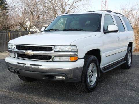 2004 Chevrolet Tahoe for sale at Tonys Pre Owned Auto Sales in Kokomo IN