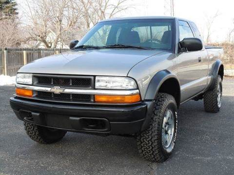 2003 Chevrolet S-10 for sale at Tonys Pre Owned Auto Sales in Kokomo IN