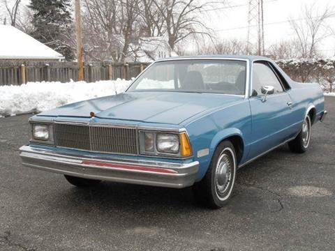 1980 Chevrolet El Camino for sale at Tonys Pre Owned Auto Sales in Kokomo IN