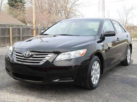 2009 Toyota Camry Hybrid for sale at Tonys Pre Owned Auto Sales in Kokomo IN