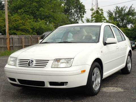 2002 Volkswagen Jetta for sale at Tonys Pre Owned Auto Sales in Kokomo IN