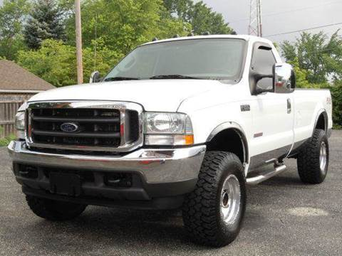 2004 Ford F-250 Super Duty for sale at Tonys Pre Owned Auto Sales in Kokomo IN