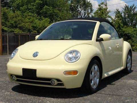 2003 Volkswagen New Beetle for sale at Tonys Pre Owned Auto Sales in Kokomo IN