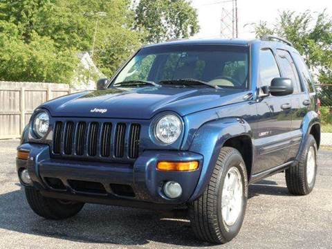 2003 Jeep Liberty for sale at Tonys Pre Owned Auto Sales in Kokomo IN