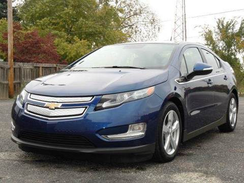 2013 Chevrolet Volt for sale at Tonys Pre Owned Auto Sales in Kokomo IN