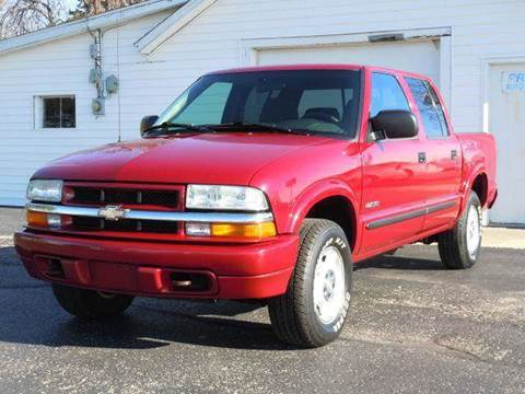 2004 Chevrolet S-10 for sale at Tonys Pre Owned Auto Sales in Kokomo IN