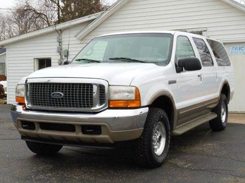 2000 Ford Excursion for sale at Tonys Pre Owned Auto Sales in Kokomo IN
