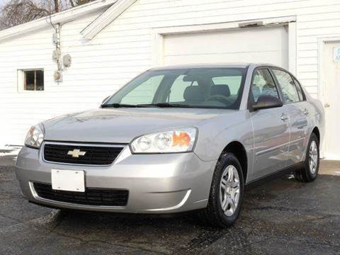 2006 Chevrolet Malibu for sale at Tonys Pre Owned Auto Sales in Kokomo IN
