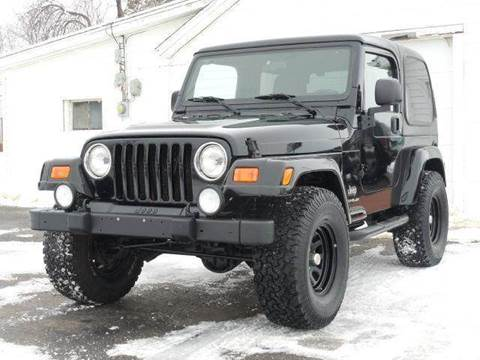 2003 Jeep Wrangler for sale at Tonys Pre Owned Auto Sales in Kokomo IN