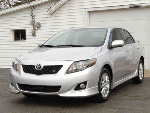 2010 Toyota Corolla for sale at Tonys Pre Owned Auto Sales in Kokomo IN