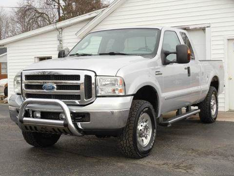 2005 Ford F-250 Super Duty for sale at Tonys Pre Owned Auto Sales in Kokomo IN