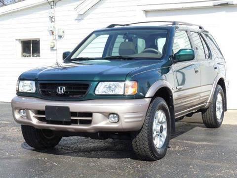2001 Honda Passport for sale at Tonys Pre Owned Auto Sales in Kokomo IN